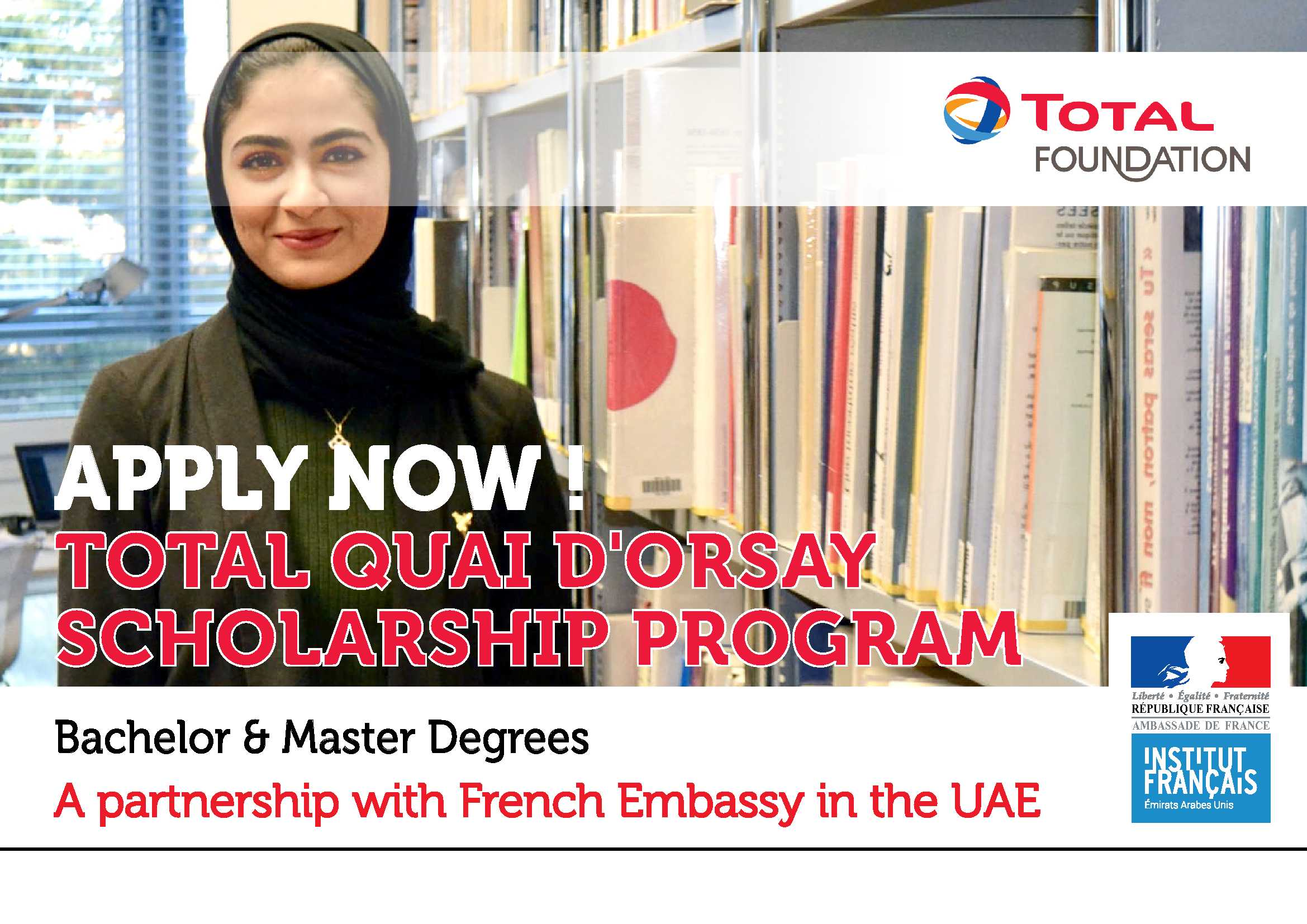 Total Scholarship program 2019