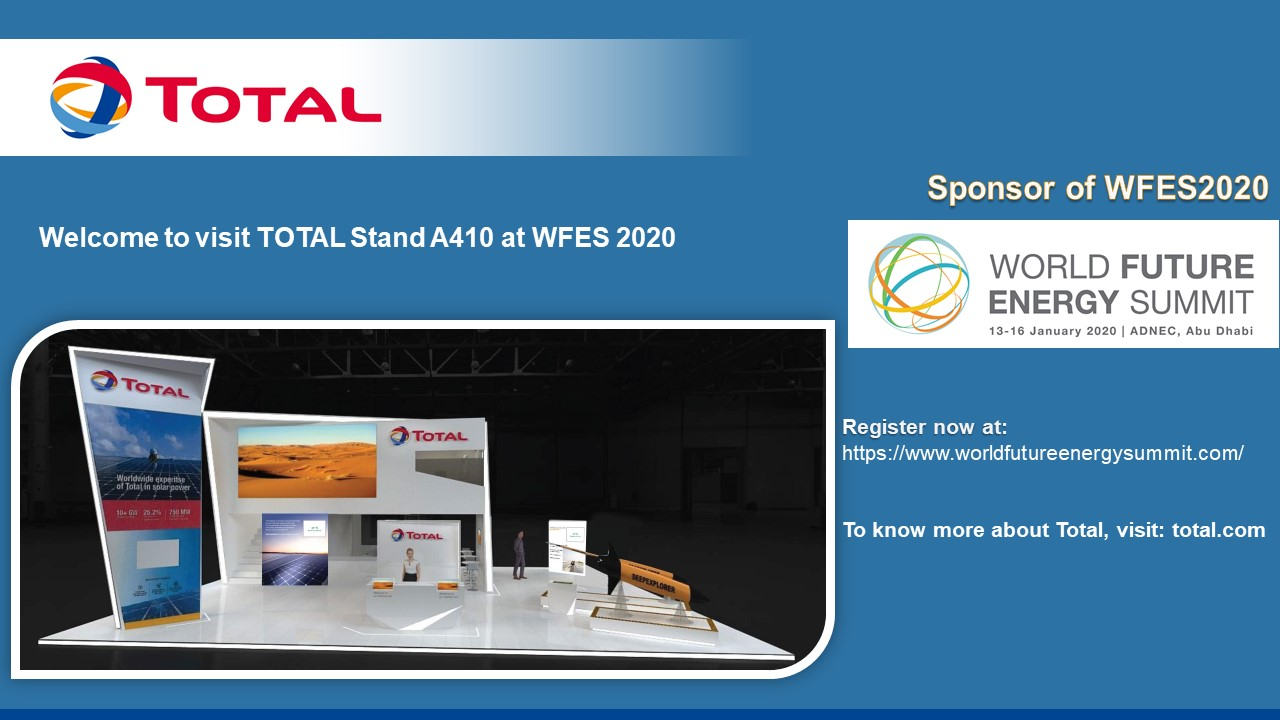 Total stand at WFES - 2