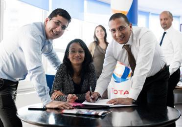 Employee benefits at Total