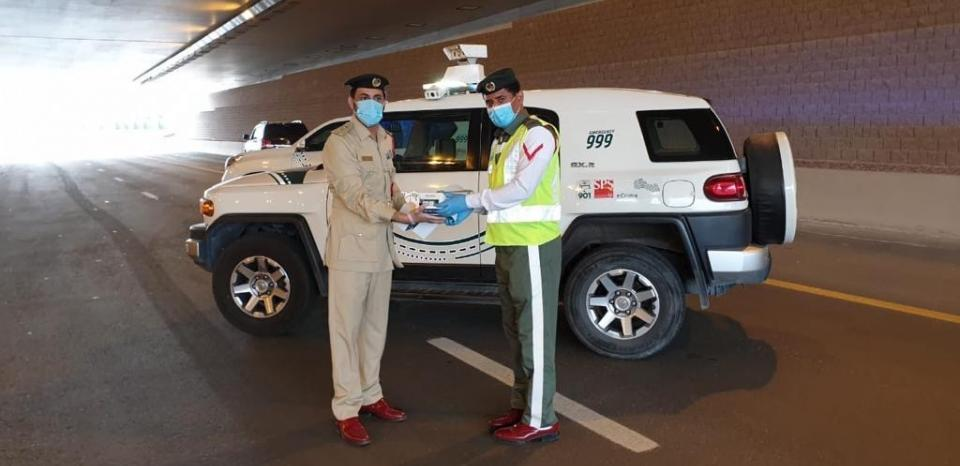 Total with Dubai Police CSR 3